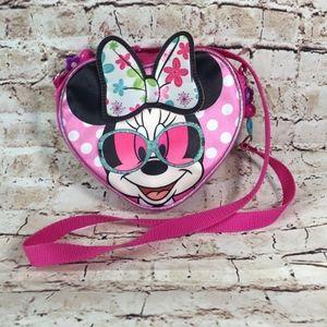 Disney Minnie Mouse Heart Cross-body Bag